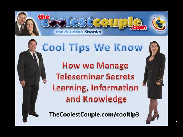 Cool Tip 3 Snapshot